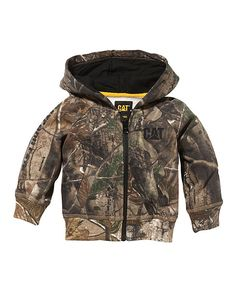 Love this Real Tree Camo Zip-Up Hoodie - Infant, Toddler & Kids by CAT on #zulily! #zulilyfinds
