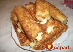 Potato sticks with cheese Crisp, potato and soft cheese inside. Delicious) Ingredients: ● 5 medium boiled potatoes ● 2 eggs ● of Pizza Recipes, Cooking Recipes, Potato Recipes, Potato Sticks, Party Buffet, Falafel, Party Snacks, Relleno, Finger Foods