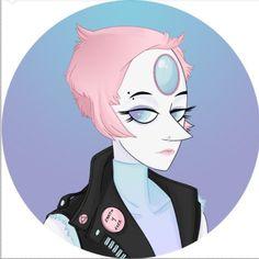 Steven Universe, pearl, Pastel Goth || tumblr: Chika-Chu