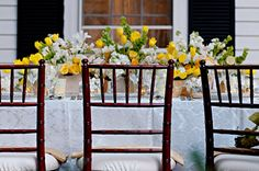 Southern Garden Party - Style Perfect Weddings and Events