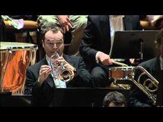 The Berliner Philharmoniker. Stravinsky's Petrushka trumpet solo.