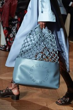 Stella McCartney Spring 2020 Ready-to-Wear Collection - Vogue ]Source by Stylish Handbags, Cheap Handbags, Luxury Handbags, Purses And Handbags, My Bags, Tote Bags, Fashion Bags, Fashion Accessories, Paris Fashion