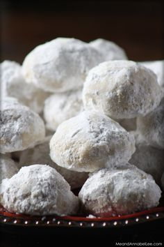 Pecan Butter Balls... Melt in your mouth delicious!! .. www.MeandAnnabelLee.com