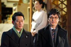 Jun Kwang-ryul (전광렬) with Jang Hyun-sung (장현성) in 'Sign' (싸인) (2011)