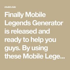 Finally Mobile Legends Generator is released and ready to help you guys. By using these Mobile Legends Tool you can now easily get as much Points and Ticket as you want. Ticket Generator, App Hack, Divorce Attorney, Free Gems, Mobile Legends, Hacks, Guys, Diamonds, Glitch