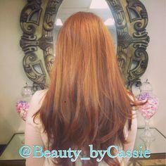 Red hair long hair cut #beautybycassie #hair #hotd @chromatiquesalon #red #ling #layers #blowout #spring #trends #seattlestylist #bellevuestylist #bblogger #stylist #follow #mua