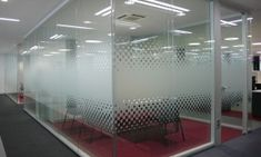 Azpiegiturak   Arlex Glass Sticker Design, Frosted Glass Design, Glass Partition Designs, Glass Office Partitions, Office Space Design, Office Interior Design, Corporate Interiors, Office Interiors, Glass Etching Designs