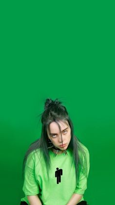 Billie Eilish Pirate Baird O'Connell(born December is an American singer and songwriter. Born and raised in Highland Park, Los Angeles. Celebs, Celebrities, American Singers, Aesthetic Pictures, Inktober, Foto E Video, My Idol, Music, Green