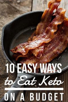 "TweetEmail TweetEmail Share the post ""10 Easy Ways to Eat Keto on a Budget"" FacebookPinterestTwitterEmail We've been following a Keto lifestyle since May and have gotten fabulous results. If you've done Keto for any length of time, you know that it's not always cheap. As a family of 6, I'm always looking for ways tocontinue reading..."