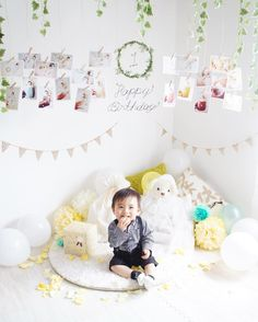 いいね!214件、コメント17件 ― K A O R Uさん(@mgsan.0315)のInstagramアカウント: 「 Happy First Birthday! お誕生日の日は普段よりも 数倍割り増しで親バカ発揮されて 何GB分シャッターを押したことか… しばらくお誕生日写真だらけです☺️ .…」