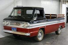 1961-Chevrolet-Corvair-Rampside-Pick-Up-Front..Re-pin brought to you by agents of #carinsurance at #houseofinsurance in Eugene, Oregon