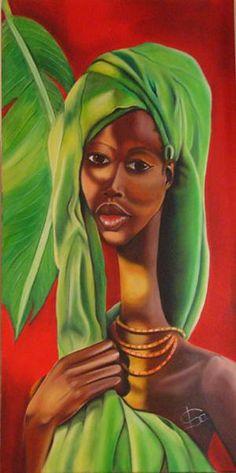 Isabelle Sauvineau ~ Beaute d'afrique