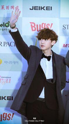 Chanyeol | 150128 Gaon Chart K-Pop Awards