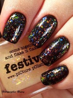 Holographic Hussy | picture polish | nail polish