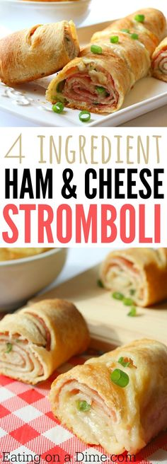 How to make Stromboli - this easy Stromboli recipe is delicious. Strombolis are not hard to make but this Stromboli sandwich is fun to make for the family.