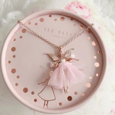 The cutest little Fairy to go with my watch. I can't wait to wear her . I think Ted Baker has got to be my absolute favourite, so girly and gorgeous. Dainty Jewelry, Cute Jewelry, Jewelry Accessories, All Things Cute, Girly Things, Princess Aesthetic, Pink Princess, Princess Party, Disney Princess