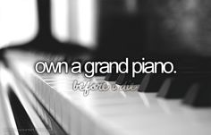 Inspiring image before i die, bucket list, love, piano, text - Resolution - Find the image to your taste Bucket List Before I Die, One Day I Will, Six Feet Under, Maybe Someday, Life List, To Infinity And Beyond, Favim, So Little Time, Life Goals