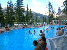 Banff hot springs Banff, Canada http://wanderingcarol.com/marilyn-monroe-on-mt-norquay/