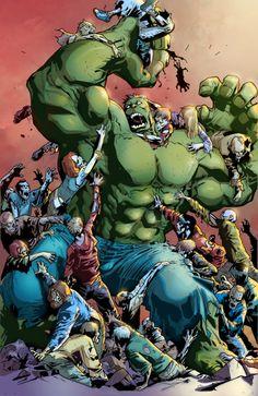 #Hulk #Fan #Art. (Hulk Cover Colored) By: Lorenzo Berdondini. ÅWESOMENESS!!!™ ÅÅÅ+
