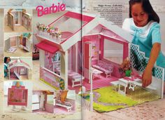 Barbie Journal 1992 (Finnish) by vaniljapulla, via Flickr