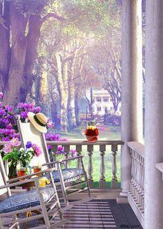 Iced Tea on the Porch