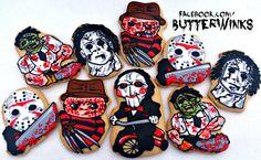 Halloween horror movie Decorated Cookies