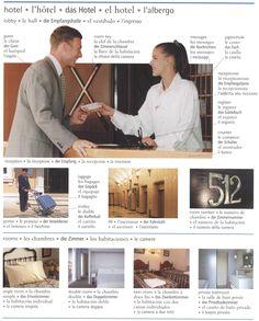 das Hotel / el hotel / Para interactuar con los miembros únete al grupo: >> Vocabulario alemán << https://www.facebook.com/groups/Vocabulario.aleman/