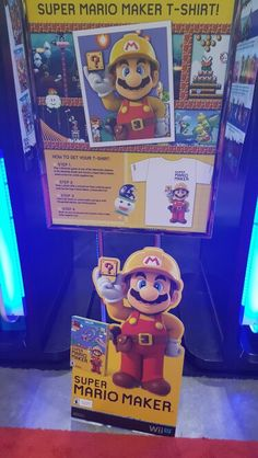 #fanexpo Super Mario, Wii, Toronto, Gaming, Character, Videogames, Game, Lettering