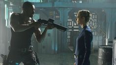 Dark Matter - S1E1 - Roger Cross as Six and Zoie Palmer as The Android