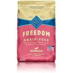Blue Buffalo Freedom Grain-Free Recipe for Dog, Adult Chicken Recipe Small Breed Grain Free, 11 lb @@@ You can see this great product. (This is an affiliate link and I receive a commission for the sales)