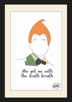 Hey, I found this really awesome Etsy listing at https://www.etsy.com/listing/168268462/limited-edition-a4-framed-drop-dead-fred