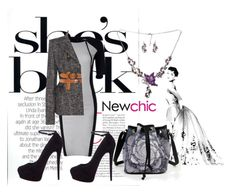"""""""Newchic 18"""" by dinka1-749 ❤ liked on Polyvore featuring Tom Ford, Giuseppe Zanotti and vintage"""