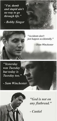 Supernatural inspiring the world with deep intellectual quotes over serene black-and-white photos