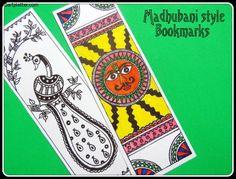 Madhubani Bookmark (ancient India)