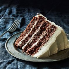 """Ina Garten's Devil's Food Cake. """"If Ina Garten Bakes This Cake for Jeffrey, It's Good Enough for Us"""". Cupcakes, Cupcake Cakes, Ina Garten Chocolate Cake, Cake Chocolate, Barefoot Contessa Chocolate Cake, Chocolate Heaven, Chocolate Coffee, Cake Recipes, Dessert Recipes"""