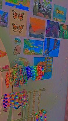 Indie Bedroom, Indie Room Decor, Cute Room Decor, Room Ideas Bedroom, Bedroom Decor, Chambre Indie, Estilo Indie, Retro Room, Cute Room Ideas