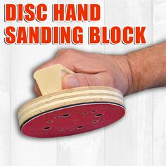 blocks for discs How to Build a Hand Sanding Block for Sanding Discs.How to Build a Hand Sanding Block for Sanding Discs.