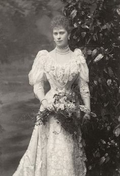 carolathhabsburg:  Princess Mary, Duchess of York. 1896.