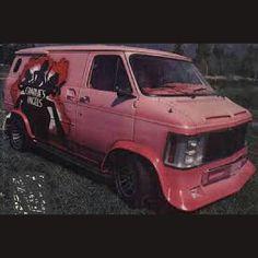 """""""Charlies Angles"""" themed custom van"""