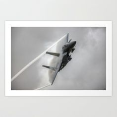 F15 Eagle Art Print by Rory Trappe - $22.88