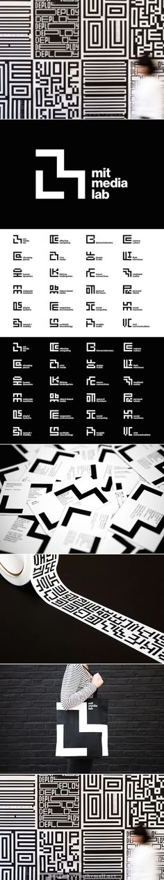 Michael Beirut's lo-fi rebrand for MIT Media Lab AUTHOR: Desktop - created on Identity Design, Visual Identity, Michael Bierut, Dynamic Logo, Lab Logo, Corporate Design, Logo Design Inspiration, Web Design, Graphic Design