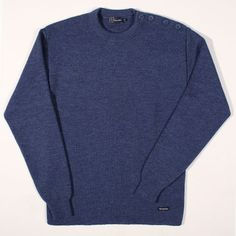 Armor Lux Sailor Sweater Uni Fouesnant Blue : SUNSETSTAR