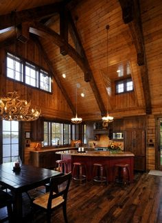Cabin Living on the Lake via pinterest
