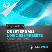 Loopmasters presents Dubstep Bass Logic ES2 Presets, a new collection of dubstep presets ready for Logic Pro free Sunth ES2.