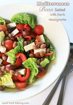 Anti-Inflammatory Meal: Mediterranean Bean Salad