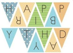 happy birthday banner free printable party ideas and inspiration