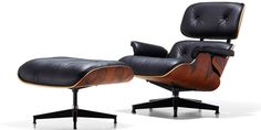 Eames Lounge Chair and Ottoman (1956).