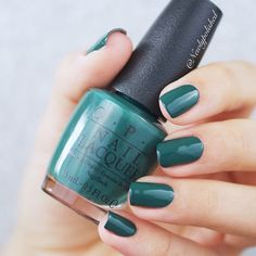 Opi Stay Off the Lawn!! / CIA = Color is Awesome / Washington DC FW 2016