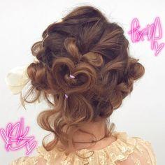 s seminar arrangement👼🖤🖤🖤Yuu . Hair Inspo, Hair Inspiration, Japanese Hairstyle, Cute Hairstyles, Hair Makeup, Cute Outfits, Hair Beauty, Dreadlocks, Make Up