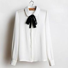 Buy 'JVL – Tie-Neck Pleated Blouse' with Free International Shipping at YesStyle.com. Browse and shop for thousands of Asian fashion items from China and more!